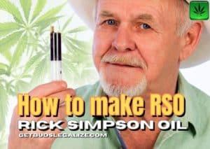 How to make RSO, Rick Simpson oil, RSO, cannabis, marijuana, weed, pot