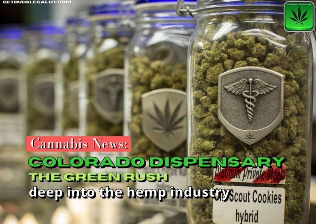 The dispensary in Colorado: deep into the hemp industry, cannabis, weed, pot, marijuana