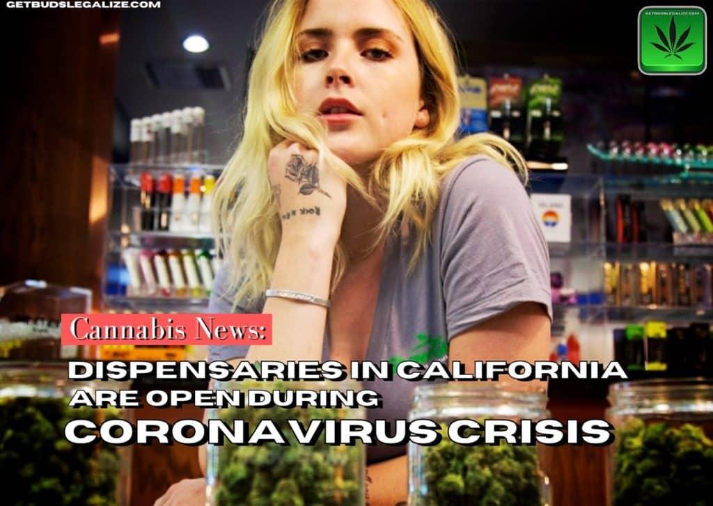 Dispensaries in California amidst coronavirus, covid 19, cannabis, marijuana, weed, pot