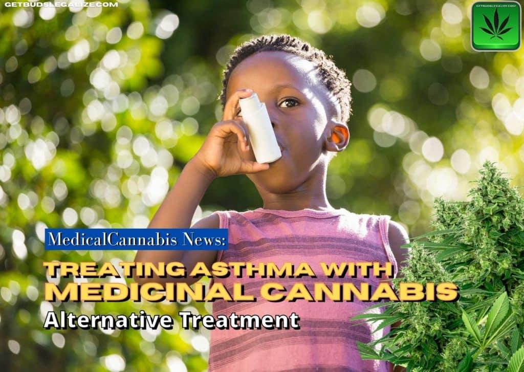 Treating Asthma with Medicinal Cannabis, CBD, THC, marijuana, weed, pot