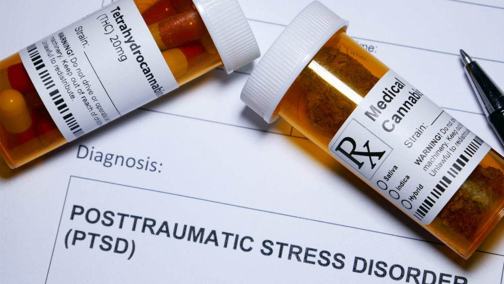 Post traumatic stress disorder and cannabis