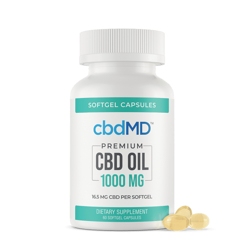 CBDmd Oil Softgel Capsules