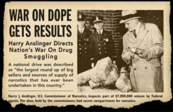 When was marijuana made illegal history war on drugs