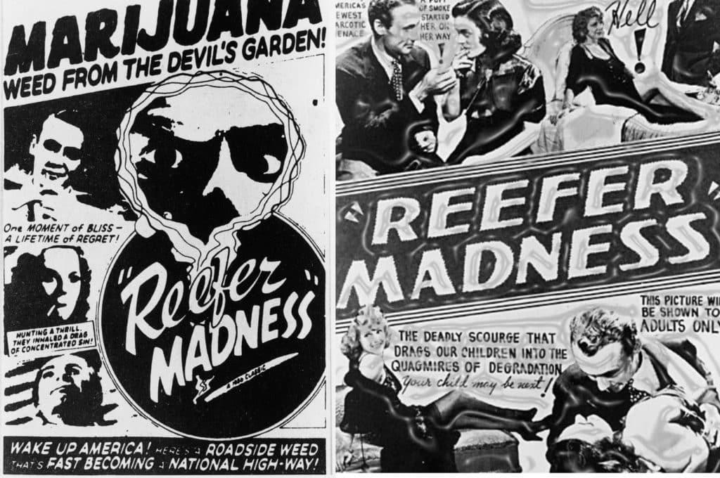 When was marijuana made illegal history
