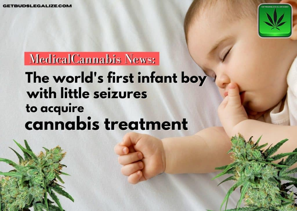 The world's first infant boy with little seizures to acquire cannabis treatment, medical cannabis news, weed, marijuana, pot