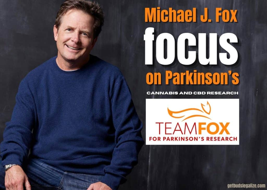 Michael J. Fox 2019 cannabis research, Michael J. Fox 2019 Foundations serves as advocates for cannabis and CBD research, weed, cannabis, marijuana, medical