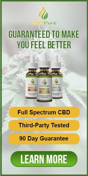 CBD Pure, full spectrum