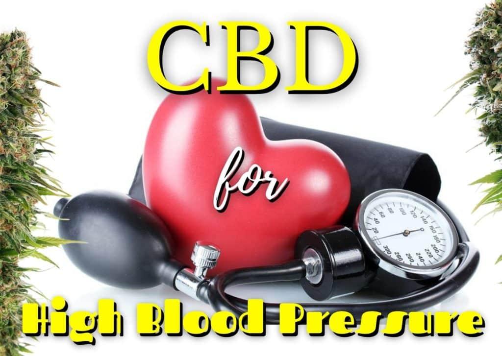 CBD oil for High Blood Pressure