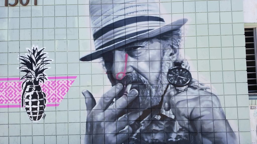 Jack Herer's Legacy continues, Ben dronkers , activist, cannabis, marijuana, weed, pot, man, story, mural, venice beach, art