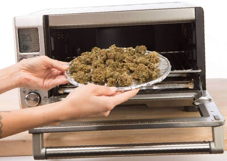 cooking with marijuana, decarboxilation, weed cannabis