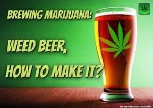 Brewing Marijuana: Weed beer, how to make it?, cannabis, marijuana, weed, pot, beer,make it