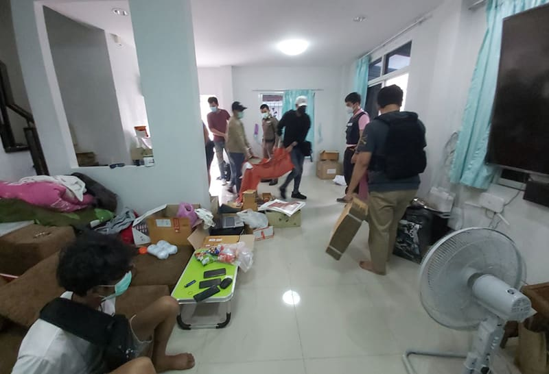 News Thailand 2021: Thai Cybercrime nabbed Facebook suspects selling weed online, cannabis, marijuana, pot, plant , low